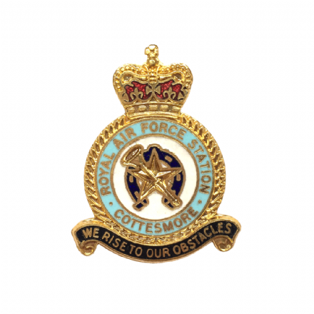 Royal Air Force RAF Station Cottesmore Lapel Badge